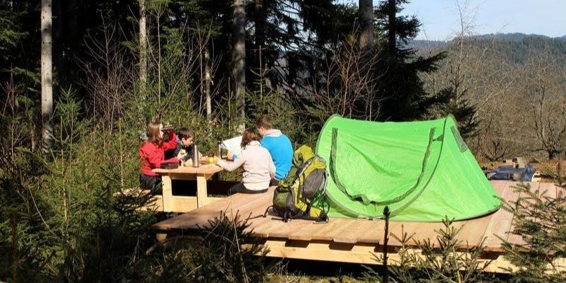 außergewöhnliche Unterkünfte - Trekking Camp