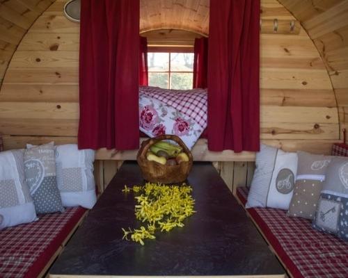 außergewöhnliche Unterkünfte - Campingfass