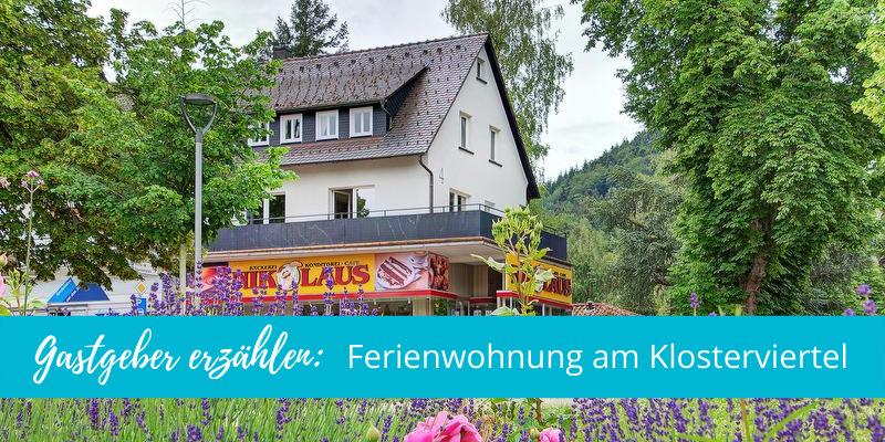 Gastgeber erzählen: Ferienwohnung am Klosterviertel in Bad Herrenalb