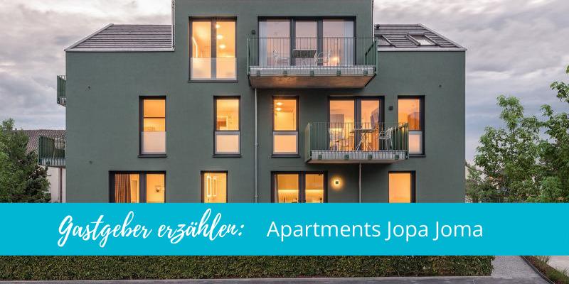 Gastgeber erzählen: Apartments Jopa Joma in Kenzingen